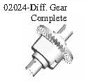 02024 - Differential gear set*1SET 1