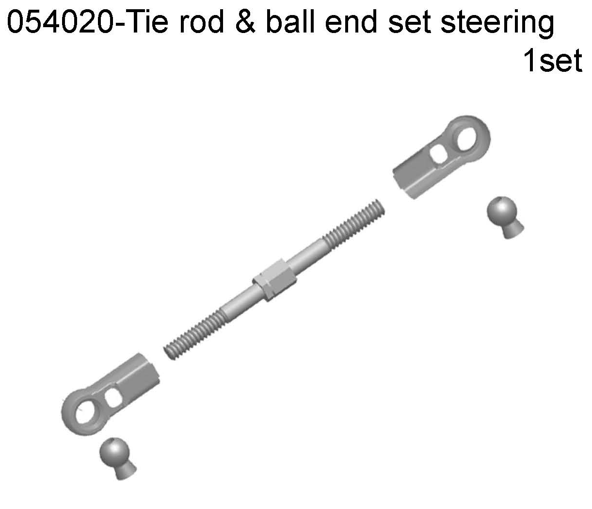 054304 - Front Lower Suspension Arm 1